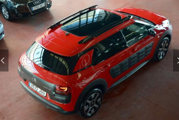 CITROEN C4 CACTUS (06/2015) - RED - lieu: