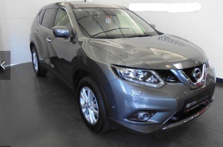 Left hand drive NISSAN X TRAIL 1,6 dCi Acenta X-Tronic