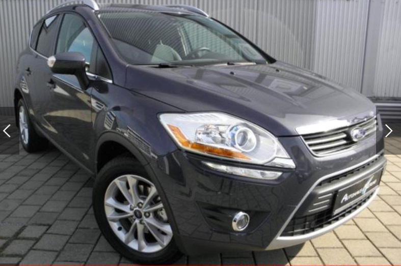 lhd FORD KUGA (08/2012) - GREY METALLIC - lieu: