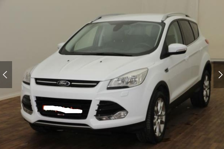 Left hand drive FORD KUGA 2.0TDCi PowerShift 4X4