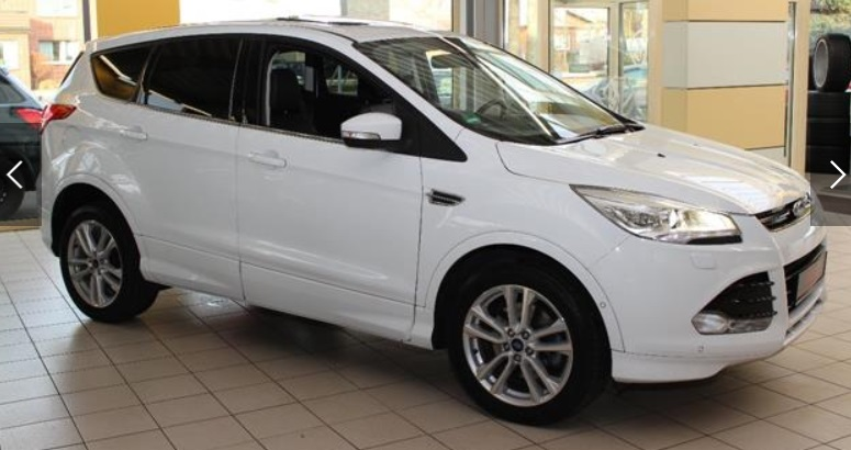 Left hand drive FORD KUGA 2.0 TDCi 4x4 Aut. Individual
