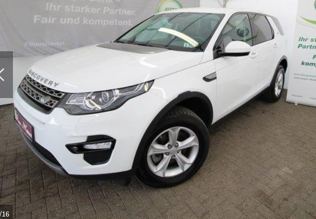 Left hand drive LANDROVER DISCOVERY SPORT Discovery Sport 2.0 TD4 SE 4WD 7 SEATS