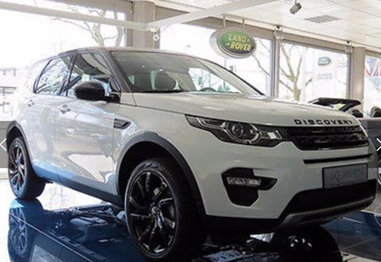 Left hand drive LANDROVER DISCOVERY SPORT Discovery Sport TD4 HSE BLACK LUXURY 7 SEATS