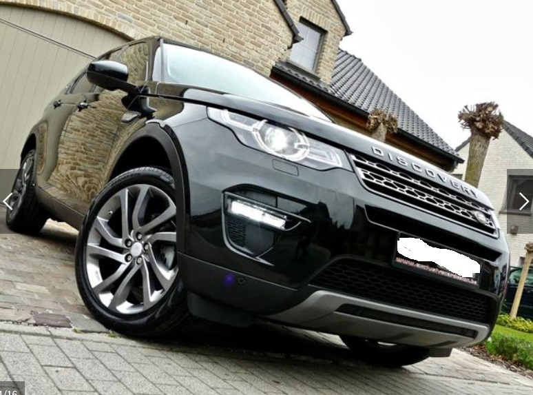 Left hand drive LANDROVER DISCOVERY SPORT Discovery Sport 2.0 TD4 SE 7 SEATS