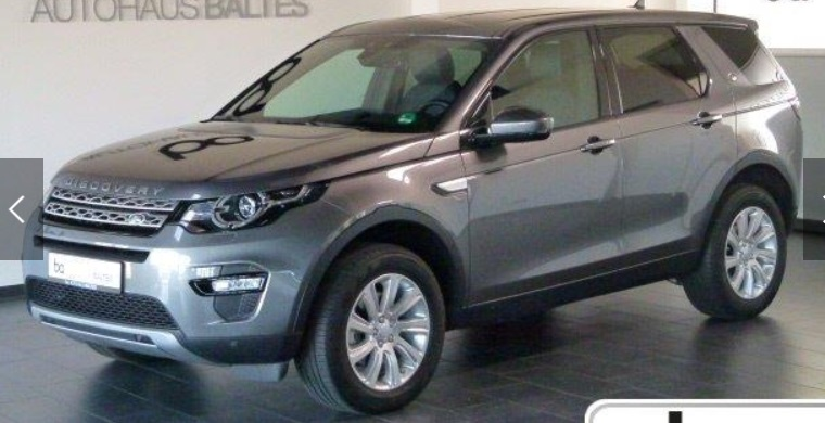 Left hand drive LANDROVER DISCOVERY SPORT Discovery Sport 2.0 TD4 HSE 7 SEATS