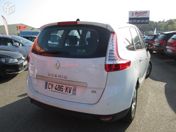 Left hand drive RENAULT GD SCENIC Grand Sc�nic III dCi 110 Business 7 SEATS FRENCH REG