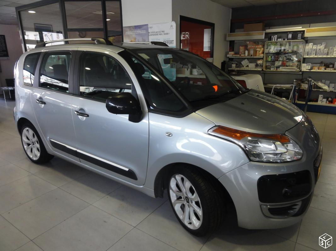 Left hand drive CITROEN C3 PICASSO C3 Picasso 1.6 e-HDi90 Millenium II BMP6 FRENCH REGISTERED