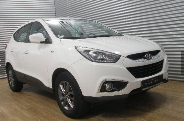 Left hand drive HYUNDAI IX 35 1.6 Fifa World Cup Edition