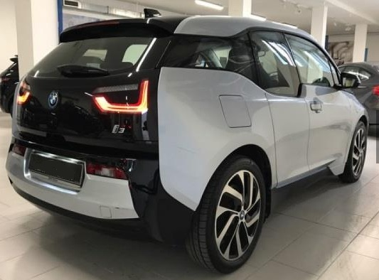 Lhd BMW I3 (05/2014) - GREY METALLIC - lieu: