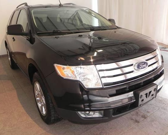 lhd FORD EDGE (01/2009) - BLACK - lieu: