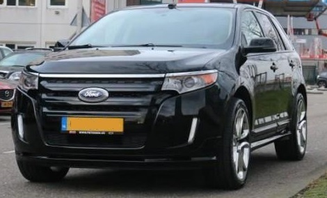 Left hand drive FORD EDGE Sport AWD 2012