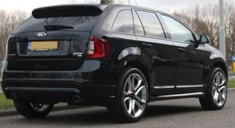 Lhd FORD EDGE (01/2012) - BLACK - lieu: