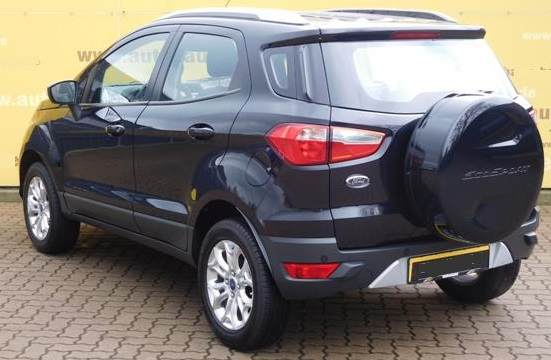 Lhd FORD ECOSPORT (12/2014) - BLACK METALLIC - lieu: