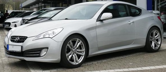 HYUNDAI COUPE Genesis Coupe 3.8 V6 AT