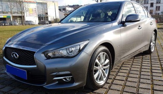 INFINITI Q50 (10/2014) - GREY METALLIC - lieu: