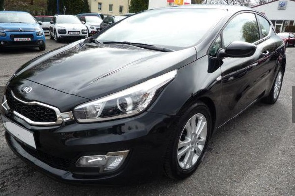 Left hand drive KIA PRO CEED pro Ceed 1.6 GDI Edition 7 Emotionsp. Winterr�d.
