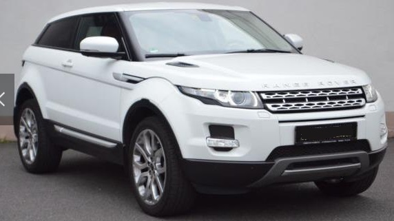 Left hand drive LANDROVER RANGE ROVER EVOQUE Evoque Coupe Si4 STANDHEIZUNG 5-KAMERA