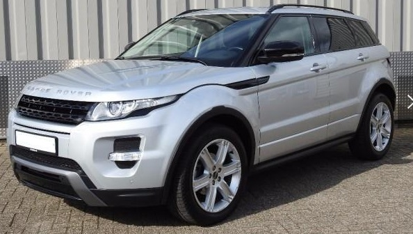 Left hand drive LANDROVER RANGE ROVER EVOQUE 2.0 Si 4wd DYNAMIC / Tech / Dakrails