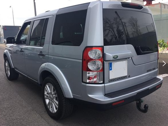 Left hand drive LANDROVER DISCOVERY Pro 3.0TDV6 HSE