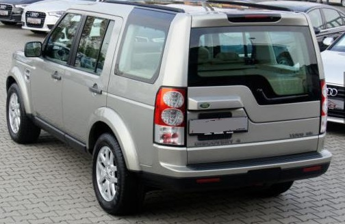 Left hand drive LANDROVER DISCOVERY 4 TDV6 SE -sehr gepflegt- mit AHK