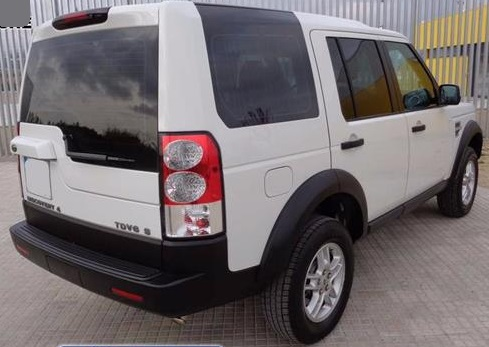 Left hand drive LANDROVER DISCOVERY 2.7TDV6 S