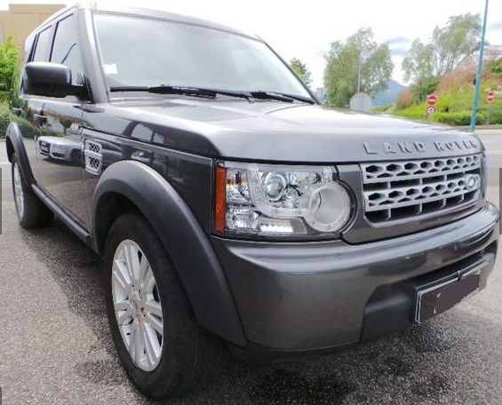 Left hand drive LANDROVER DISCOVERY 3.0 TDV6 155KW S MARK IV
