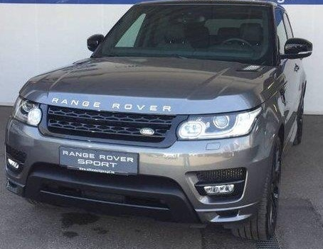 Left hand drive LANDROVER RANGE ROVER SPORT SDV6 Autobiography Dynamic