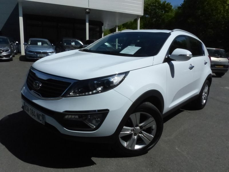 Left hand drive KIA SPORTAGE 1.6 GDI 135 ACTIVE FRENCH REG