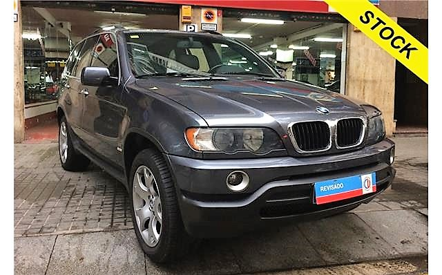 lhd BMW X5 (04/2003) - GREY METALLIC - lieu: