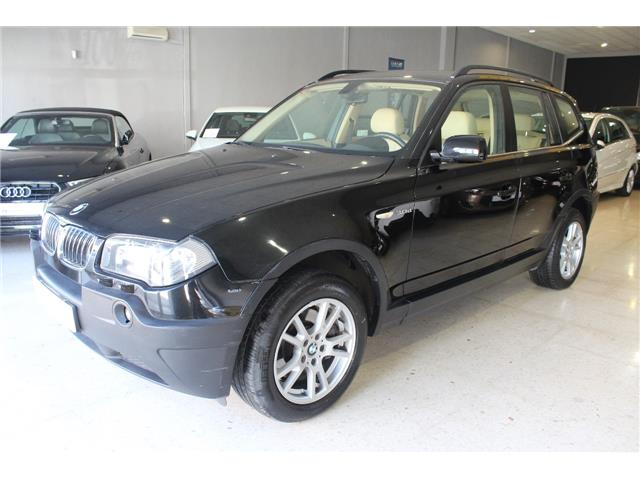 Left hand drive BMW X3 3.0d Auto Spanish registered