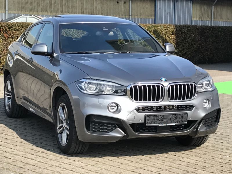 lhd BMW X6 (11/2015) - GREY METALLIC