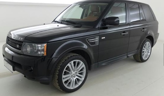 Left hand drive LANDROVER RANGE ROVER SPORT 3.0 TdV6 HSE COLD CLIMATE CUIR/NAVI/XENON