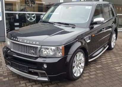 Left hand drive LANDROVER RANGE ROVER SPORT Supercharged