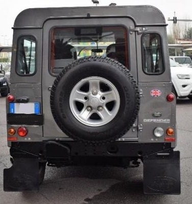 LANDROVER DEFENDER (02/2011) - GREY METALLIC - lieu: