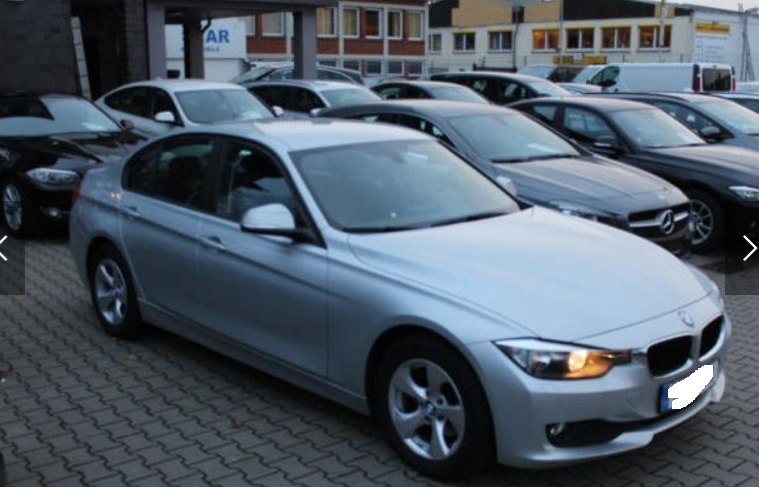 Left hand drive BMW 3 SERIES 320D Efficient Dynamics Edition