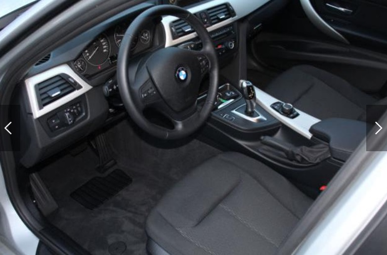 BMW 3 SERIES (08/2015) - SILVER METALLIC - lieu: