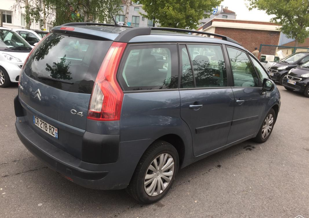 CITROEN C4 GRAND PICASSO (07/2008) - BLUE - lieu: