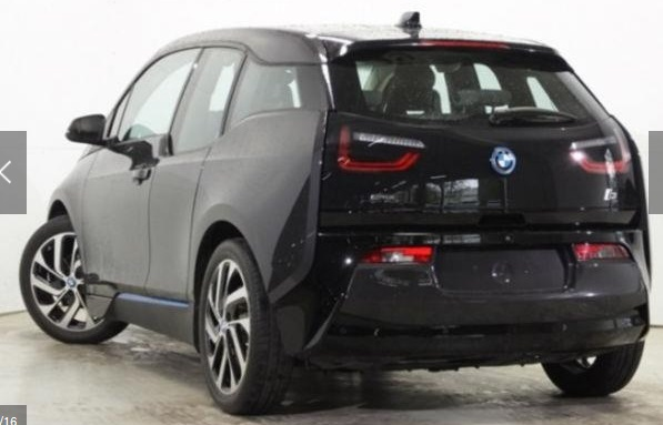 lhd car BMW I3 (11/2013) - GREY METALLIC - lieu: