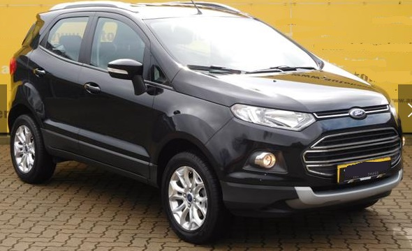 Left hand drive FORD ECOSPORT 1.5 Ti-VCT Titanium ALU / PDC