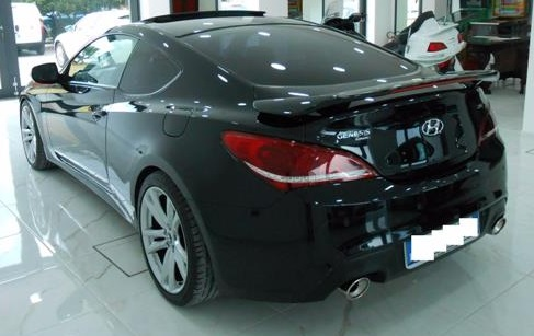 HYUNDAI COUPE (01/2013) - BLACK METALLIC - lieu: