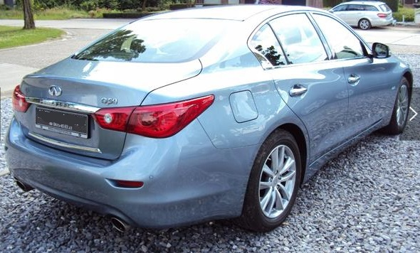 INFINITI Q50 (09/2014) - GREY METALLIC - lieu: