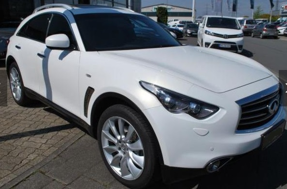 INFINITI QX70 3.0d AWD Aut. Black & White*1HD*