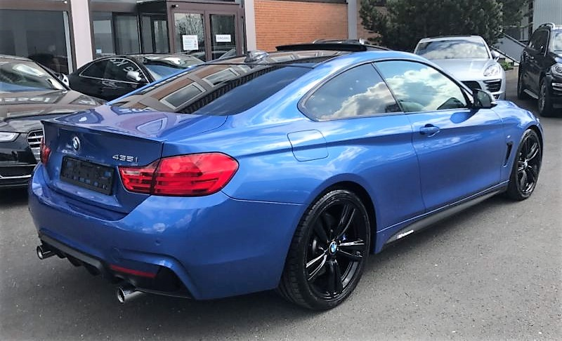 BMW 4 SERIES (03/2015) - BLUE METALLIC - lieu:
