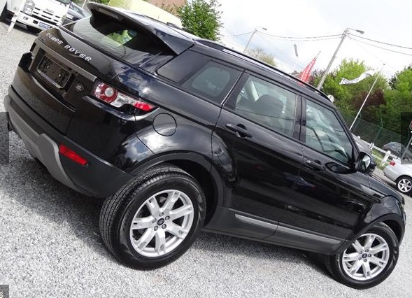 Left hand drive LANDROVER RANGE ROVER EVOQUE 2.2 TD4 4WD Aut. XENON.CUIR.CLIM.PDC.JA 18.