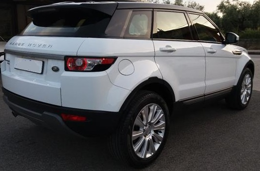 Left hand drive LANDROVER RANGE ROVER EVOQUE 2.2 TD4 5p. Pure Tech Pack
