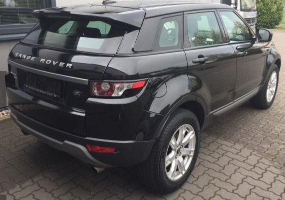 Left hand drive LANDROVER RANGE ROVER EVOQUE Pure 1.HAND+LEDER+4-TRG. !!!
