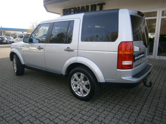 Lhd LANDROVER DISCOVERY (07/2009) - SILVER - lieu: