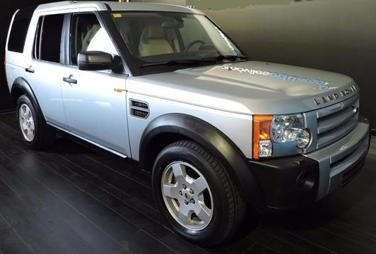 lhd LANDROVER DISCOVERY (06/2006) - SILVER - lieu: