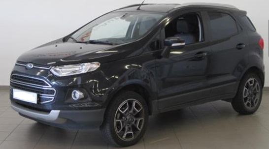 FORD ECOSPORT (11/2014) - BLACK - lieu:
