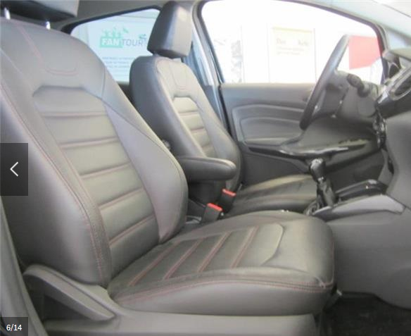 Left hand drive car FORD ECOSPORT (11/2014) - BLACK - lieu: